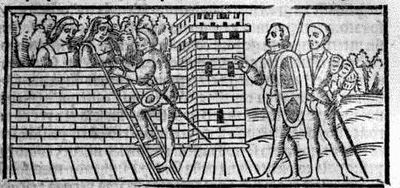 Engraving from act XIX from the Seville edition (1523)