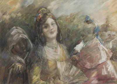 La Celestina, by Fallola (1921 c.)