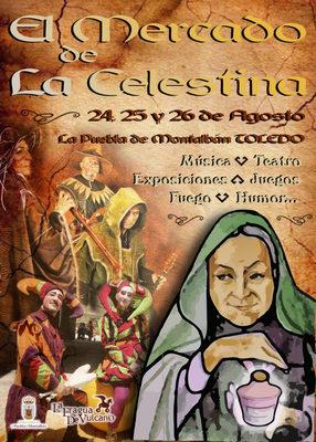 Poster of he Market of Celestina, Puebla de Montalban (2018)