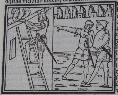 First image of act 19 of the edition of Lisbon (1540)