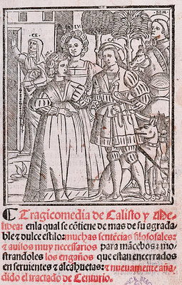 Cover of the Sevilla edition, 1523.
