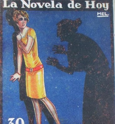 The Horror (Lo horrible), cover of the Novela de hoy edition (1927)