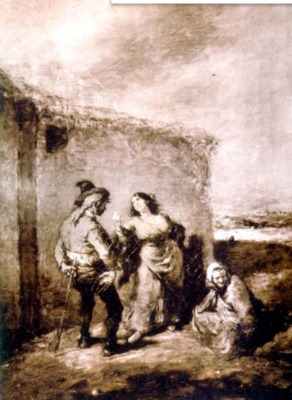 The Quarrel, by Lameyer (1850 c.)
