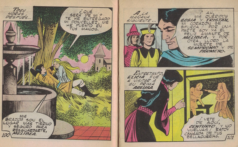 Comic of La Celestina, by Basstien (1988)