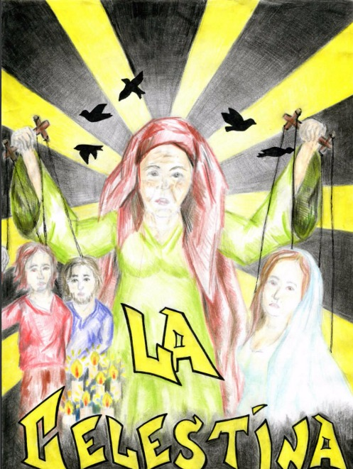 Comic from La Celestina by Alamavona (2016)
