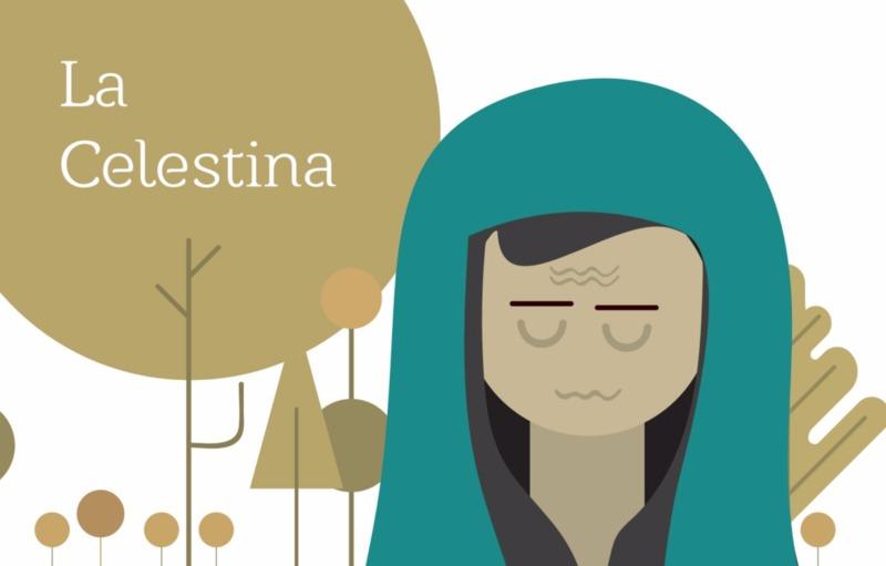 Comic of La Celestina with separate text by Pulunto Pérez (2016)