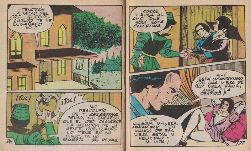 Comic of La Celestina, by Basstien (1988)