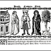Engraving of act XV from the Valencia edition (1514)