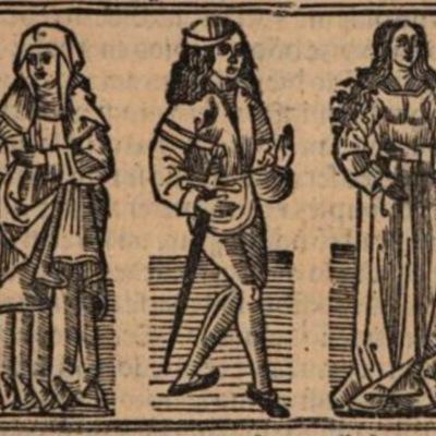 Imagen primera del acto VII de Burgos, 1531