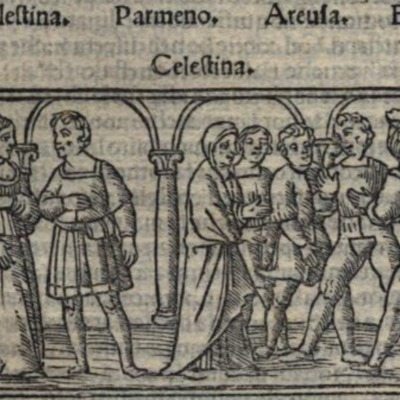 Illustration of act VII of the Venice edition (1519)