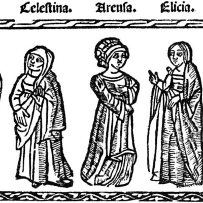 Illustration of act VII of the Valencia edition (1529)