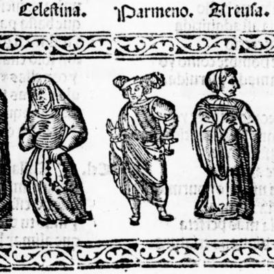Illustration of act VII of the Salamanca edition (1540)