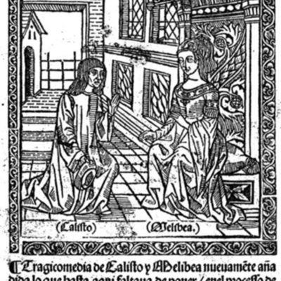 Cover of the Zaragoza edition, 1507.