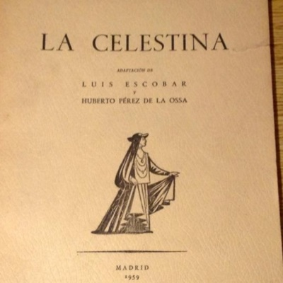 Cover of the Arges edition: Madrid, 1959
