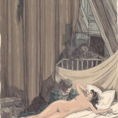 Third illustration from act VII from the Paris edition (1949)