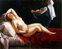 Danaë, by Gentileschi (1612)