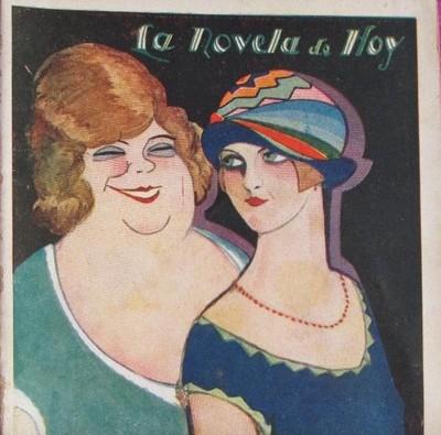 Provenza Street (La calle de Provenza), cover of the Novela de hoy edition (1928)