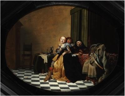 Escena en un burdel, de Pot (1630)