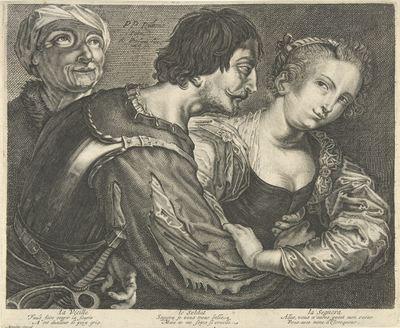 The marriage maker, by van Persijn (1645 c.)