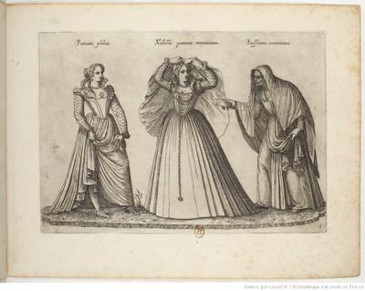 A Venetian Procuress, by Boissard (1581)