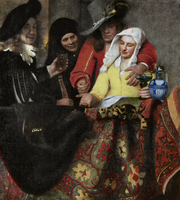 The Procuress, by Vermeer (1656)