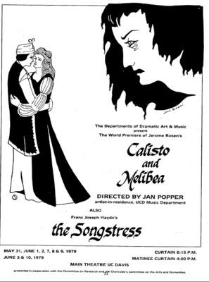 Representación del Main Theatre UC Davis, California, 1979