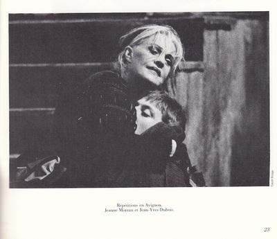 Representation of D'Avignon Festival, Avignon, by Vitez (1989)