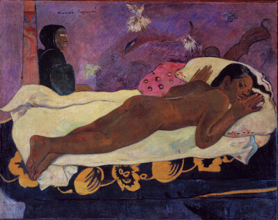 Spirit of the Dead Watching, by Gauguin (1892)