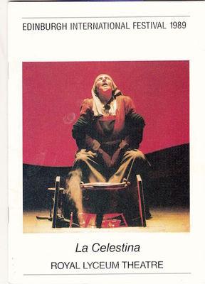 Representation in the Edinburgh International Festival, by Marsillach (1989)