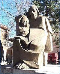 Estatua de Fernando de Rojas en Puebla de Montalbán (1980, c.)
