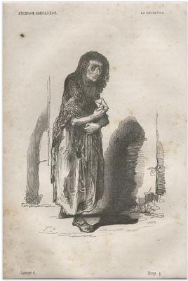 La Celestina, by Lameyer y Berenguer (1847)