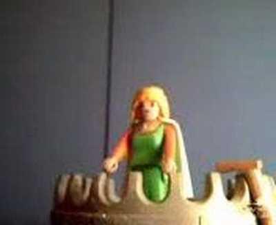 Playmobil Celestina (Celestina Playmobil), YouTube video of Melibea's suicide, by Lorzo's channel (2007)