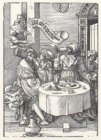 The Matchmaker (Die Kupplerin), de Vogtherr (1537).