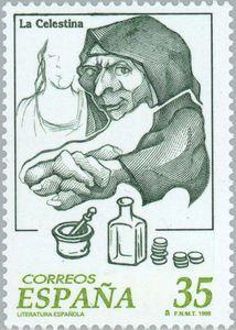 Postage stamp from Correos de España, 1998.
