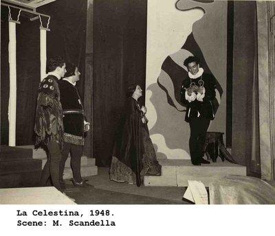 Representación del Teatro Ridotto, Venecia, 1948